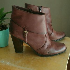 Women's Nicole Ankle Boots Leather